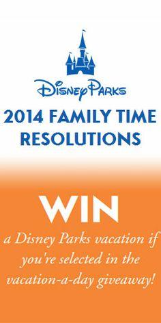 Win a Disney Parks Vacation