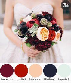 pas seulement des fleurs dans le bouquets?