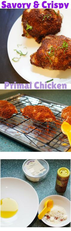 A favorite gluten free way to get a crispy baked chicken!