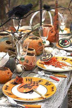 Halloween tablescape | Lifestyle Portfolio | Karin Lidbeck-Brent. Photo Stylist. Producer. Editor. Craft Guru. Artist.