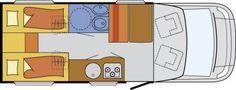 Wohnmobil Glücksmobil T 660 - Sat • TV • Markise • Fahrradträger - ID: HC1929990 #Glücksmobil #T #660 #Wohnmobil - Caravans - Wohnwagen & Reisemobile