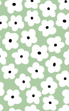 Welcome iconic style into your space with this stylish and quirky Green Retro Floral Pattern Vinyl Flooring, a fun design that will brighten your room. Ed Wallpaper, Iphone Background Wallpaper, Aesthetic Iphone Wallpaper, Aesthetic Wallpapers, Green Wallpaper, Hippie Wallpaper, Floral Pattern Wallpaper, Kawaii Wallpaper, Bedroom Wall Collage