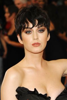 InStyle is the leading site for celebrity style. See expert fashion advice, star hairstyles, beauty tips, how-to videos and real-time red carpet coverage. Katy Perry, Red Carpet Makeup, How To Wear A Wig, Colored Wigs, Sideburns, Celebrity Makeup, Celebs, Celebrities, Celebrity Hairstyles