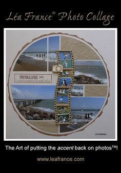 Photo Collage created by Catherine, using Sundial Stencil