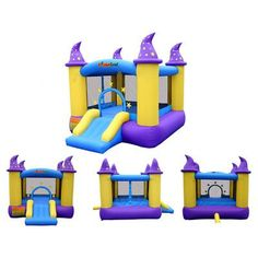 Look what I found! A cheap yet well constructed bouncy castle! Why not live vicariously through your children? Just this once, I promise.