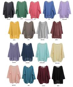 Japan Oversized Layering Tunic Knit Sweater | eBay FREE SHIPPING $16.50