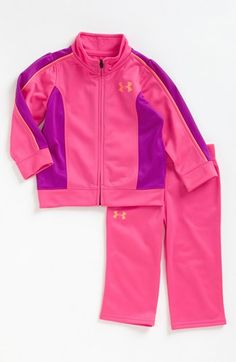 Under Armour Track Jacket & Pants (Toddler Girls) (Online Only) Toddler Pants, Toddler Outfits, Girl Outfits, Toddler Girls, Baby Girl Wishes, My Baby Girl, Baby Girls, Baby Girl Fashion, Toddler Fashion