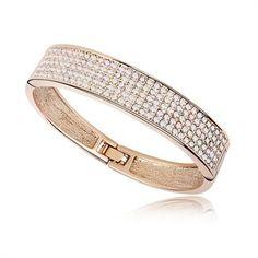 Swarovski Element Crystal Bracelet -Gorgeous Color - Promotional Offers- - TopBuy.com.au