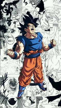 Dragon Ball Super Manga, Episode and Spoilers Dragon Ball Gt, Dragon Ball Image, Foto Do Goku, Ball Drawing, Animes Wallpapers, Akira, Cartoon, Iphone, Facebook Instagram