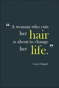 lol. So true. :) Cutting your hair is like getting rid of all your strains in life. You feel like a brand new person. <3 Who ever knew that hair has that kind of effect on a person?