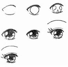 Manga Drawing Techniques How to draw Manga eyes. It is for those who love to draw manga. Drawing Techniques, Drawing Tips, Drawing Ideas, Learn Drawing, Drawing Hair, Drawing Reference, Pose Reference, Manga Drawing Tutorials, Drawing Style