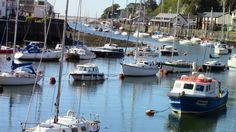 Porthmadog Harbour.