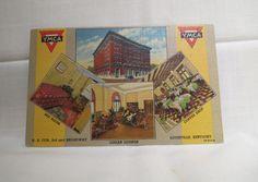 Vintage Postcard YMCA Multiview Louisville, Kentucky Linen by KansasKardsStudio on Etsy