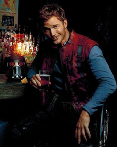 Seriously, though, how cute is Chris Pratt?