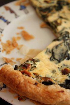Tarte épinards & ricotta quiches