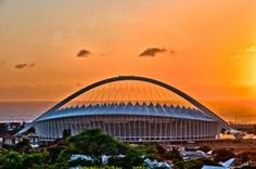 Moses Mabhida Stadium, Durban City Painting, Sydney Harbour Bridge, South Africa, Places To Visit, Sweet Home, African, Paintings, Gallery, Sports
