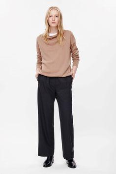 COS | Drawstring merino jumper