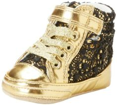 Juicy Couture Baby Baby-Girls Newborn Sneakers, Gold Angel, 3-6 Months Juicy Couture,http://www.amazon.com/dp/B00ESZAHVK/ref=cm_sw_r_pi_dp_TBfVsb0K8J6WTBS2
