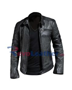 black stripes grayish black leather jacket for men Men's Leather Jacket, Biker Leather, Motorcycle Jacket, Bomber Jacket, Designer Leather Jackets, Men's Wardrobe, Winter Sale, Winter Collection, Black Stripes