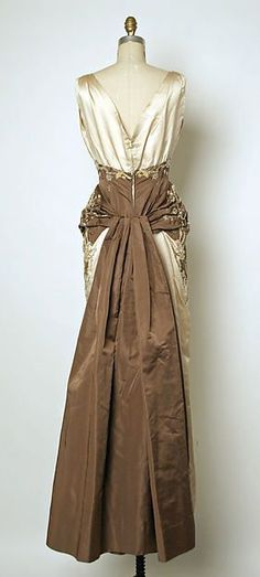 "1954-55 House of Balmain | ""Oriane"" 