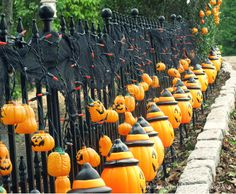 halloween fences - Google Search