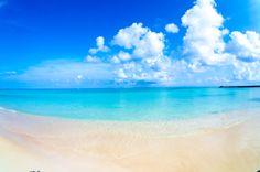 波照間島 ニシ浜の朝