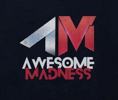 Logotipo para el clan de videojuegos Awesome Madness