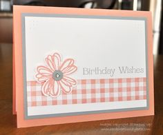 Card Creations by Beth: CASE'd Birthday Wishes