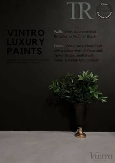Child-safe, unique coverage, fully breathable, matt finish and a lot more in this awesome luxury wall paint! Chalk Paint Colors, Luxury Flooring, Black Luxury, Metal Working, Keep It Cleaner, Victorian, Wall, Painting, Supreme