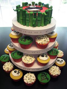 Kung Fu Panda Party by death by cupcake, via Flickr