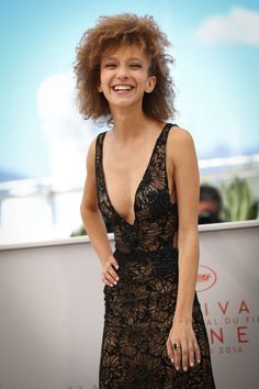 Mili Eshet in Inbal Dror at the Cannes Film Festival