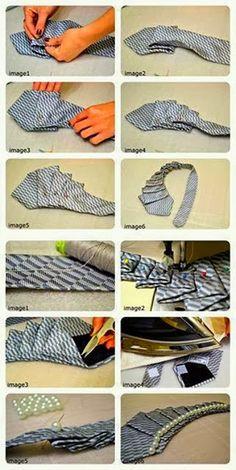 Come fare collane con le Cravatte