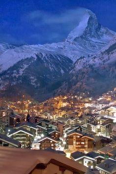 Cities- To Travel -                                           Zermatt - Switzerland
