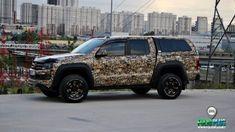 VW Amarok-Avcı Kamuflaj-Hunter Deerskull Camo – FolioPlus Profesyonel Araç Kaplama Merkezi