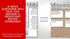 8 Ways Scrivener Will Help You Become A Proficient Writer Overnight | The Creative Penn