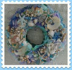 The Littlest Mermaid Wreath | por Treasured Heirlooms