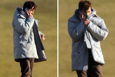 Doctor Who 50th anniversary: First location pics of David Tennant and Joanna Page suggest she could be playing Queen Elizabeth - Mirror Online In other news: DAVID IN A GIANT FLUFFY COAT