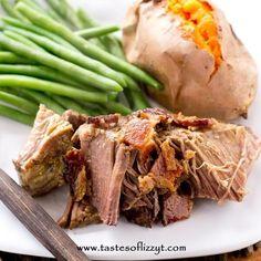 Garlic Bacon Pot Roast Recipe on Yummly. @yummly #recipe