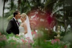 Wedding of Morgan Pressel and Andrew at The Breakers in Palm Beach, FL / Photo by Maloman Studios