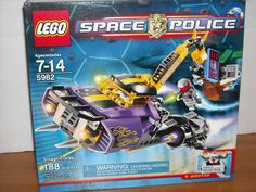 LEGO 5982 SMASH'N'GRAB SPACE POLICE 188 PCS. NEW on eBay!