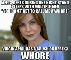 Grey's Anatomy Memes *Didn't like Mer in earlier seasons either. She was like my ---- don't stink.