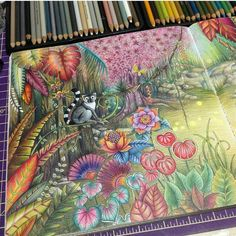Art by @rpenze ❤❤❤ Bom dia domingo!!!!! Colorido maravilhoso e muito inspirador!!!! ❤❤❤ #colorindomeujardimencantado #LoveIn30Languages #mycreativeescape #mandala #johannabasford #secretgarden #FlorestaEncantada #enchantedforest #adultcoloringbook #jardimdosbroder #fabercastell #maped #staedtler #mapedcolorpeps #fabercastellbrasil #polychromos #livrocoloriramo #parkyoungmi #hannakarlzonsommarnatt #oceanoperdido #carolpafiadache #m...