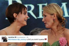 Emma Watson tweets selfie in support of J.K. Rowlings charity