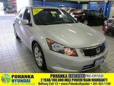 2010 Honda Accord, 36,266 miles, $16,597.