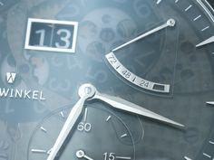Zeitwinkel Saphir Fumé Watch Hands-On Trends, Watches, Sapphire, Clocks, Clock, Beauty Trends