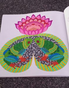 Tropical World, A coloring book adventure
