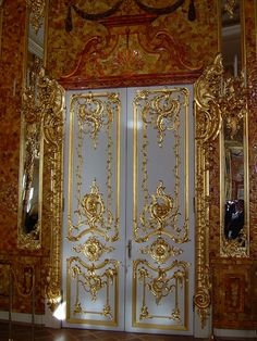 doors within Catherine Palace