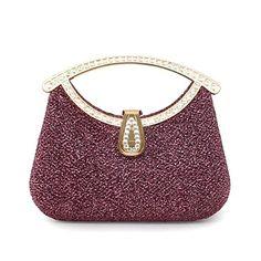Satin Wedding /Special Occasion  Clutch  Bag/Evening Handbags  With  Austrian Rhinestones (More Colors)