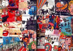 My Teaching Sketchbook: GCSE, Natural forms and Pop art units A Level Art Sketchbook, Textiles Sketchbook, Art Alevel, Sketchbook Inspiration, Sketchbook Ideas, Roy Lichtenstein, Art Portfolio, David Hockney, Collage Art