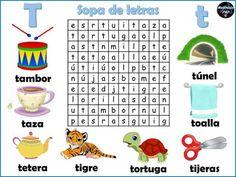 Kindergarten, Diagram, Classroom, Make It Yourself, Education, School, Words, Wordsearch For Kids, Teaching Letters